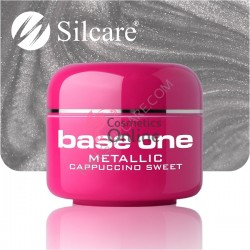 Gel UV Base One Silcare metalic Cappucino Sweet 5 ml